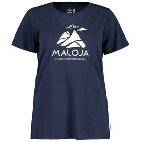 Maloja TurettaM. T-Shirt Donna, night sky